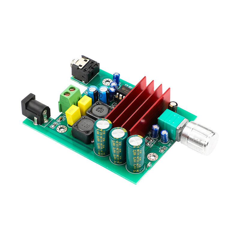 AIYIMA TPA3116D2 ซับวูฟเฟอร์เครื่องขยายเสียงดิจิตอล TPA3116 เครื่องขยายเสียง 100W โมดูล NE5532 OP AMP 8-25V