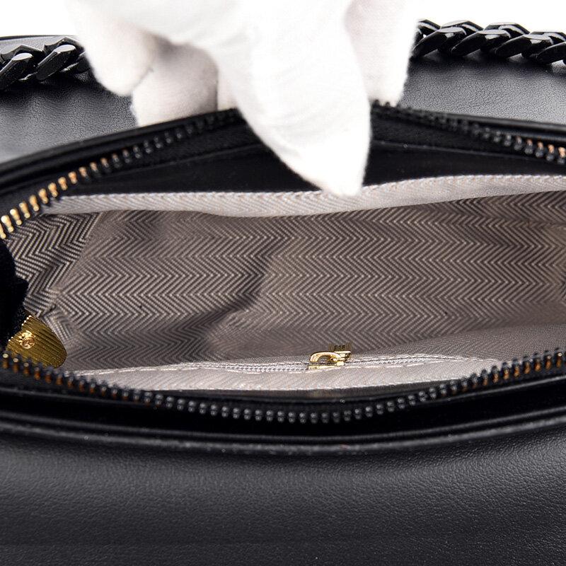 Vintage de alta calidad de cuero-Bolsas de mensajero de hombro para las mujeres 2021 nueva moda conciso Casual de la bolsa de mensajero Bolsas femenina