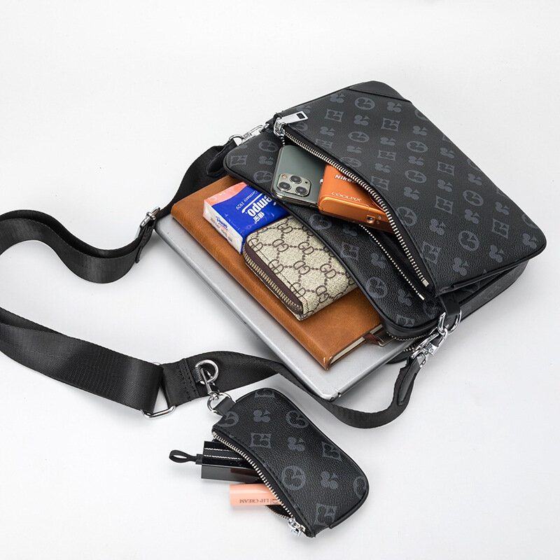 2021Fashion Luxury Brand Designer Messenger Bags for Men 3-in-1 Messenger Handbags Shoulder bags vintage clutch bags Men's bag