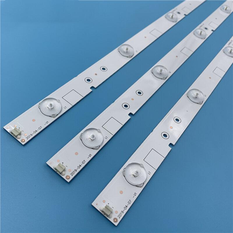 Nuevo Kit 2 uds 5LED 595mm tira de LED para iluminación trasera para LED32EC260JD LED32K20JD SVH320AG8 SVH320AH2_WICOP_5LED