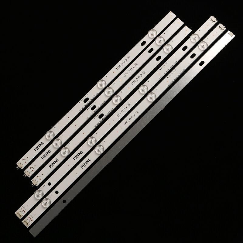Tira LED para 6916L-0962A 6916L-0962B LG 43LH5100 43LH5700 43LF510V LF51_FHD_A LF51_FHD_B LGE_WICOP_FHD 43revch_b1_b00a