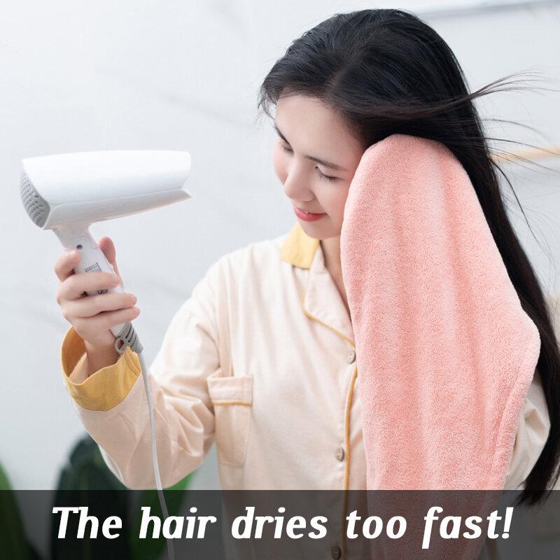 GIANTEX femmes serviettes salle de bain serviette microfibre serviette seche cheveux absorbante serviettes de bain pour adultes drap de bain rapid drying hair towel serviette