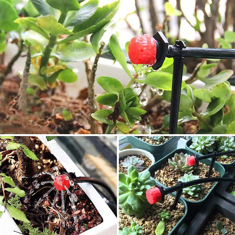5m-50m DIY Tropf Bewässerung System Automatische Bewässerung System Kit Garten Schlauch Mit Einstellbare Tropf Kopf Mini tropf Wasser Kit