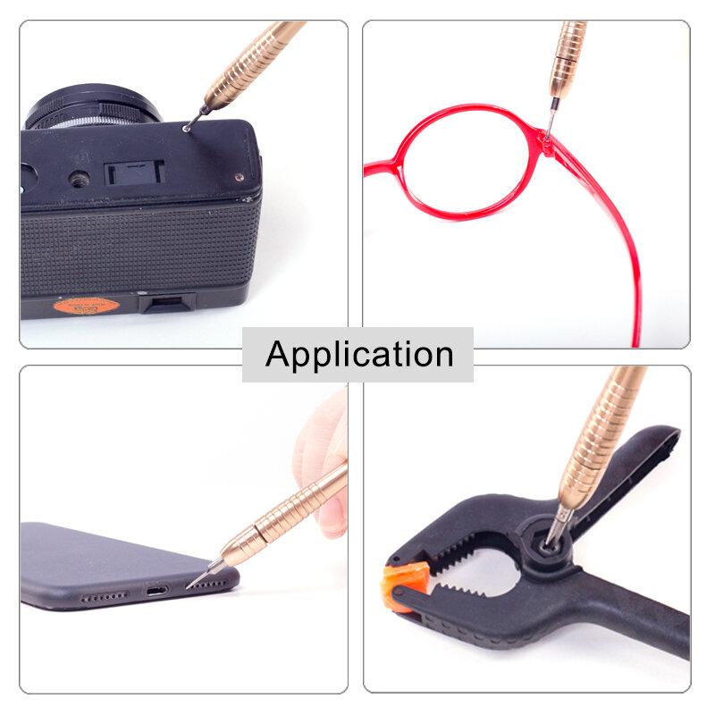 Set di cacciaviti KALAIDUN 25 in 1 Set di strumenti per la riparazione di cacciaviti Torx per iPhone cellulare Tablet PC negozio di utensili manuali in tutto il mondo