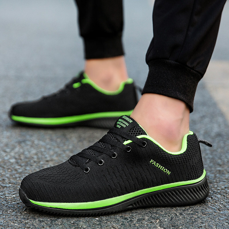 Baskets à la mode pour hommes, chaussures respirantes pour hommes, baskets de marche pour hommes, Tennis noires, Tenis Masculino Zapatillas Hombre