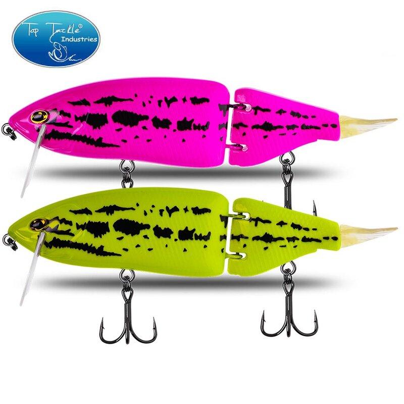 Jointed เหยื่อ165มม.60G Shad Glider Swimbait เหยื่อตกปลา Hard Body ลอยลอย Bass Pike เหยื่อตกปลา