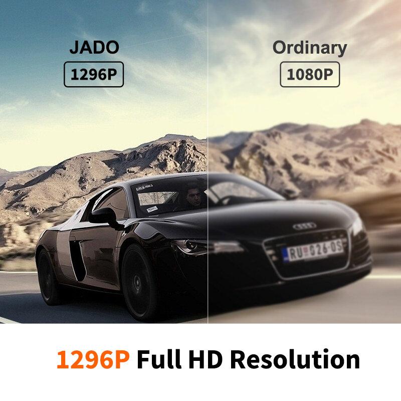 JADO T690 -12 인치 터치 스크린 백미러 대시 캠, 1080P 자동차 DVR 스트림 미디어 대시 카메라 전면 및 후면 자동차 카메라 레코더 블랙박스 JADO 후방카메라 안드로이드 올인원 자전거 블랙박스 오토바...