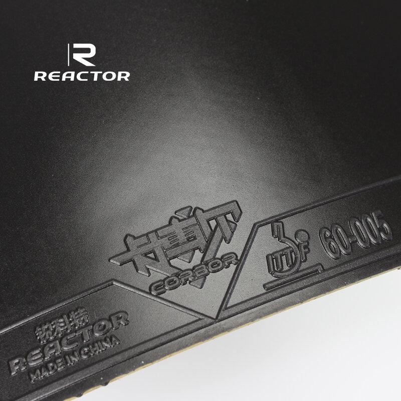 2 ชิ้น/ล็อต Reactor Original Pips-In ยาง CORBOR ตารางเทนนิสยางฟองน้ำปิงปองยาง Tenis De Mesa