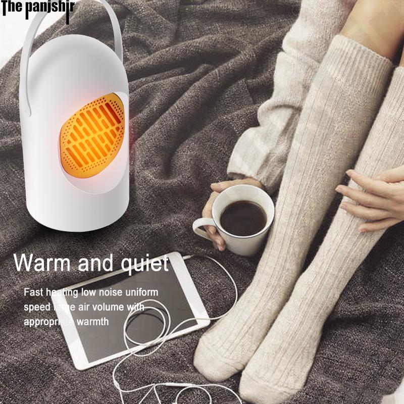 Student schlafsaal bad wand hängen haushalt tragbare desktop schnell heizung hand und fuß wärmer stille elektrische warme luft