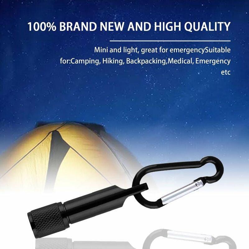 Mini Tasche Tragbare Schlüsselbund Schlüsselbund LED Camping Taschenlampe Lampe Licht