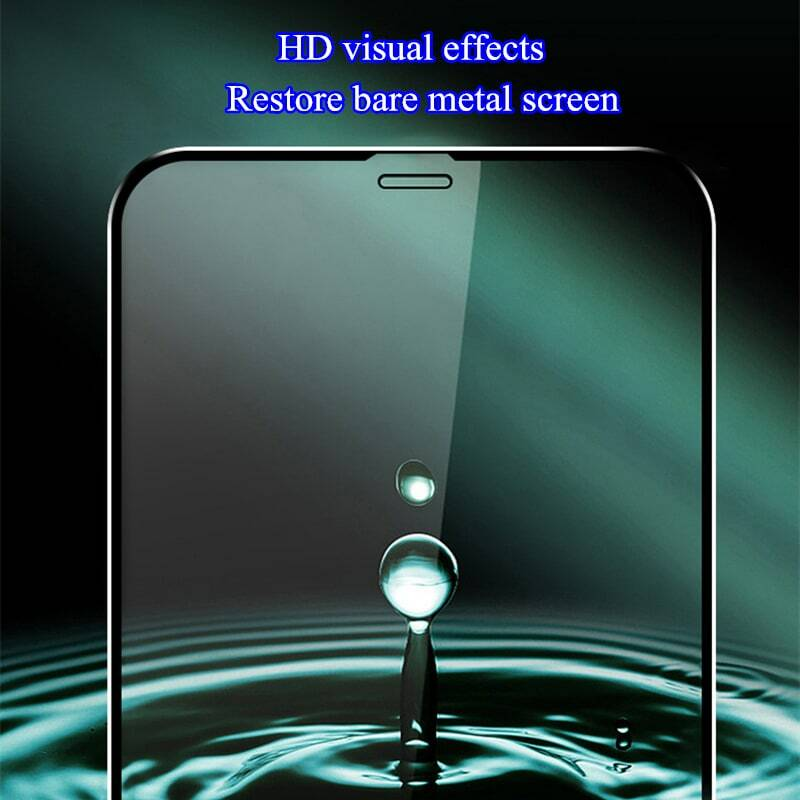 10D Full Cover Tempered Glass on For iphone 12 11 Pro Max 12 mini Screen Protector Glass For iphone 11 X XS XR 6 7 8 Plus Glass