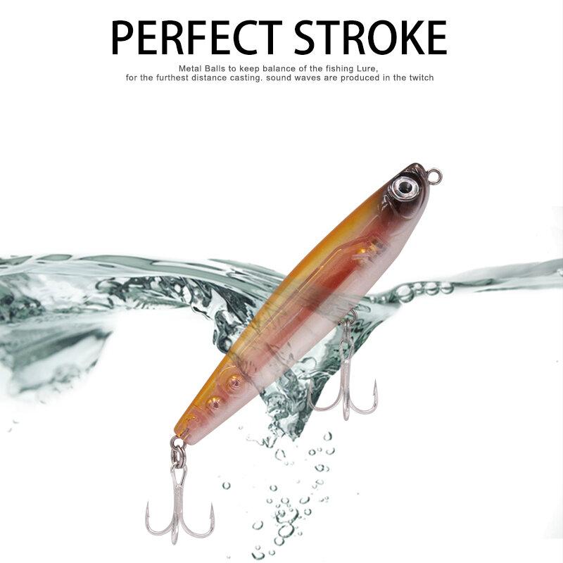 Wondershot D02 Sparrow 90มม.11.5G ดินสอที่ดีที่สุด Bass พื้นผิวตกปลา Hard Lure เหยื่อ Wobblers ลอย Artificiais Decoy