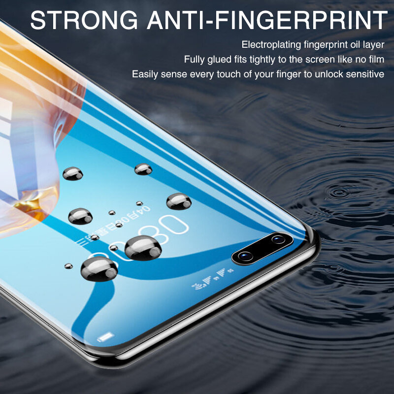 2Pcs hidrogel de película Protector de pantalla para Huawei P30 P40 Pro Lite P50 P20 película protectora Pro Mate 40 30 Pro 20 Lite P Smart Z