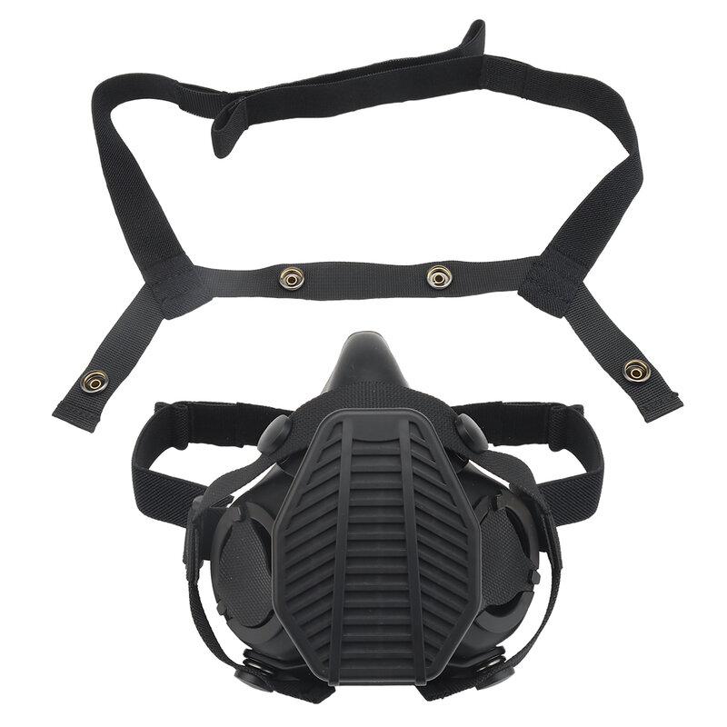 SOTR operazioni speciali respiratore tattico mezza maschera filtro sostituibile maschera antipolvere Wargame Shooting Paintball accessori