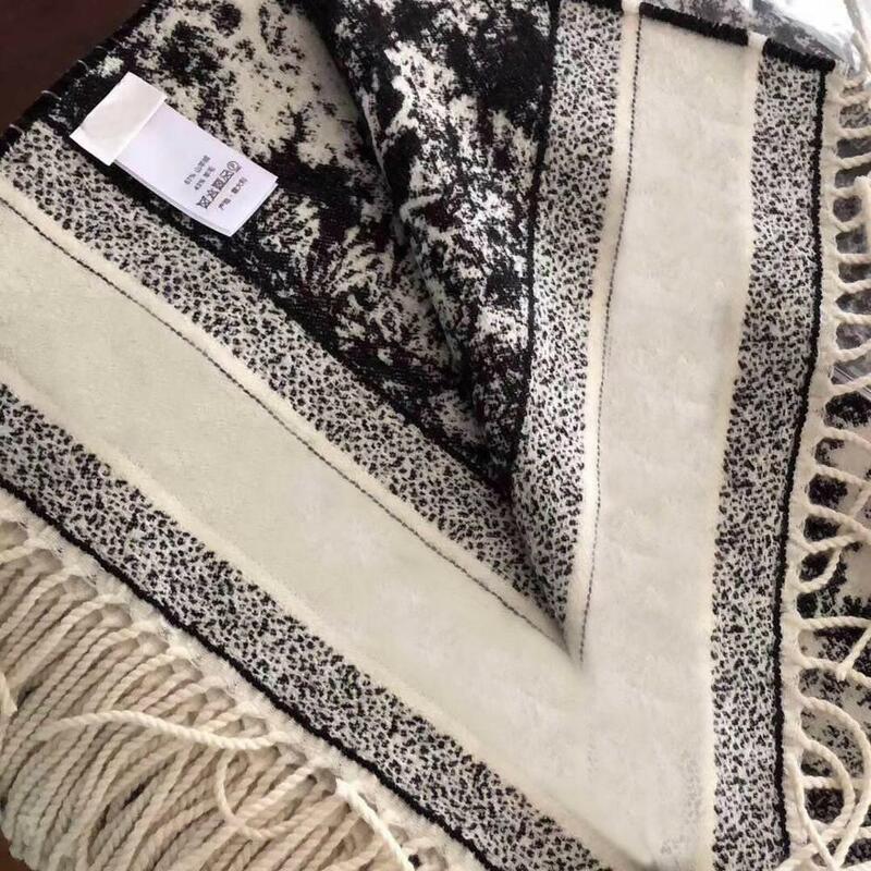 Bufanda larga de Cachemira para mujer, chal de bosque, 180x70 CM, marca Otoño Invierno 2021