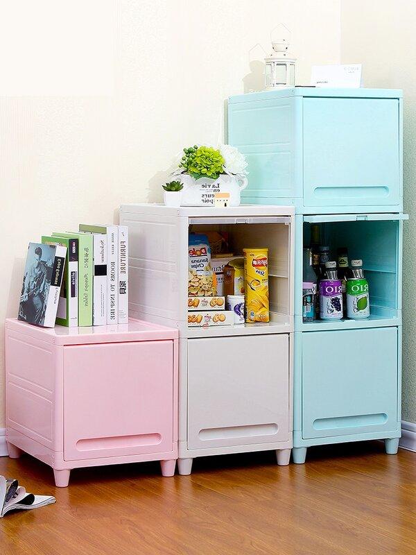 หลายตู้เก็บลิ้นชักเด็กชั้นวางง่าย PlasticToys เศษในครัวเรือนลิ้นชักตู้