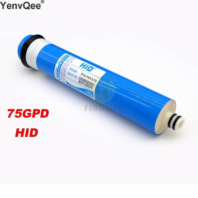 HID TFC 1812- 75 GPD RO membrana per 5 fase di trattamento di filtro depuratore di acqua ad osmosi inversa sistema NSF/ANSI Standard