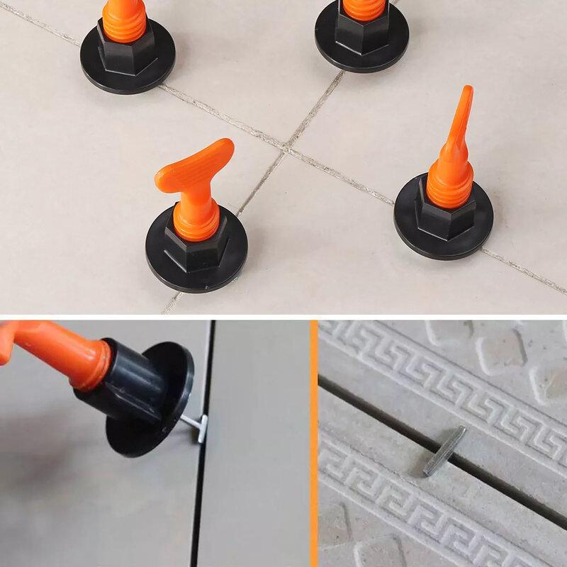 Juego de cuñas de nivel para suelo, espaciador de azulejo s para pared, espaciador de azulejo, sistema de nivelación de azulejo, alicates espaciadores, 150 unids/set