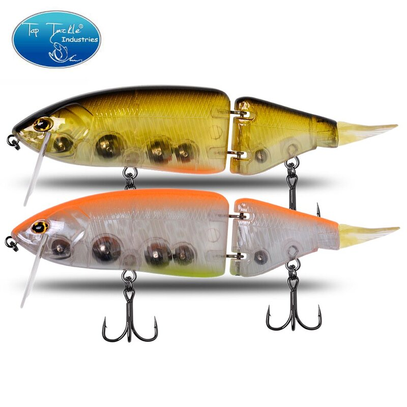 CF Lure Jointed เหยื่อ135มม./165มม.Swimbait เหยื่อตกปลา Hard Body ลอย Bass Pike เหยื่อตกปลา