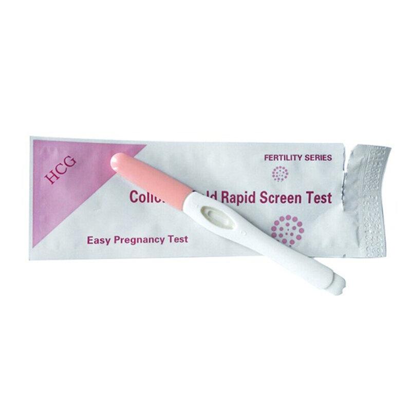 5 stücke Schwangerschaft HCG Urin Test Ome Private Frühen LH Schwangerschaft Urin Midstream Schnelltest Ovulation Test Für Frauen