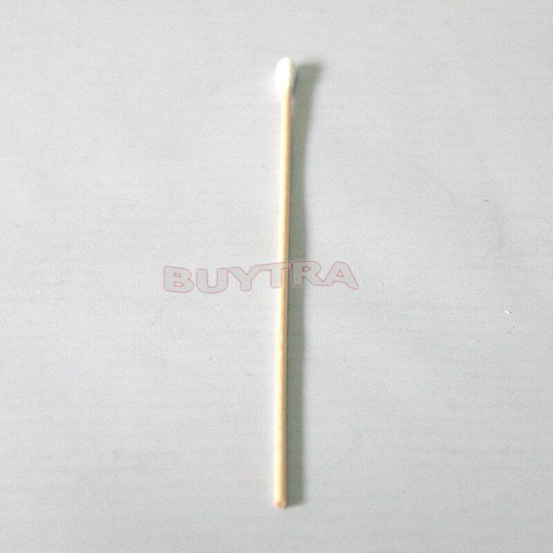 100 개 15cm 나무 면봉 건강 면봉 메이크업 화장품 귀 깨끗한 보석 깨끗한 봉오리 팁 의료