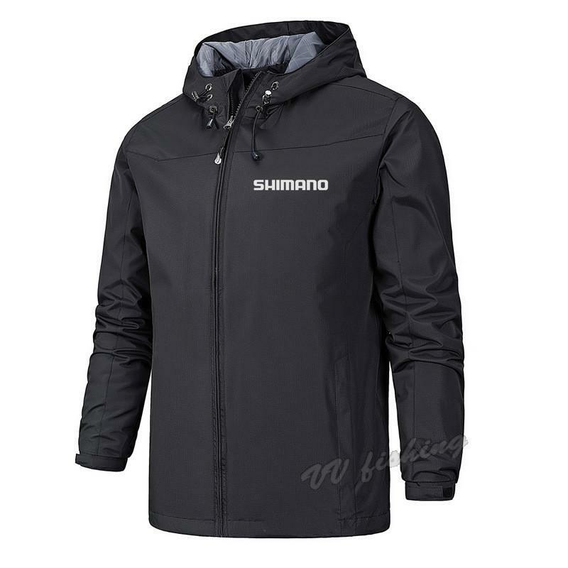 [READY]Shimano ตกปลากันน้ำเสื้อ Windproof กีฬาด่วนแห้งเสื้อแจ็คเก็ต Anti Uv Breathable เสื้อผ้าตกปลา