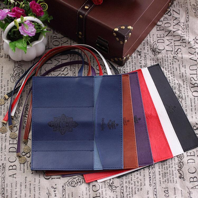 สไตล์ใหม่ Roll PU หนังกระเป๋ากระเป๋าแต่งหน้า Pem ดินสอกระเป๋าเครื่องสำอางค์ Retro