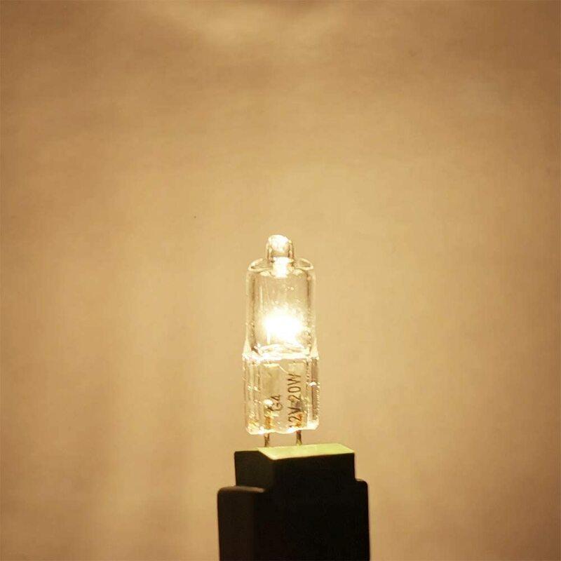 Iwhd g4 12 v 10 w 3000 k 할로겐 전구 라이트 글로브 램프 무료 배송