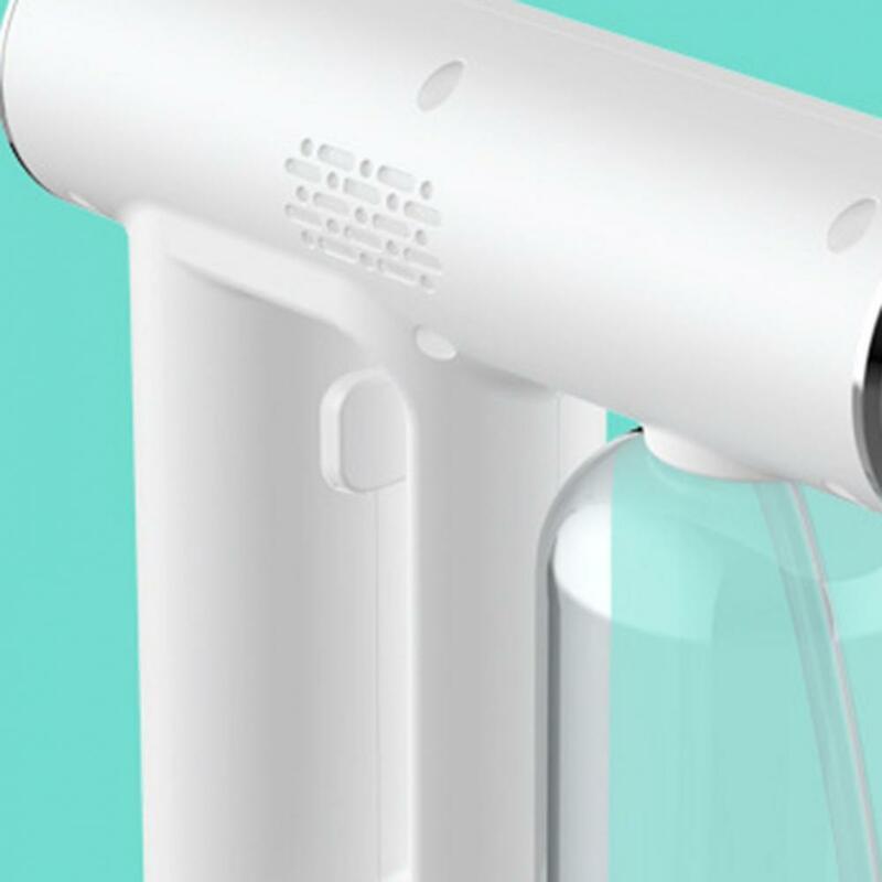 Drahtlose Sprayer USB Lade Zerstäubung Weiß Blau Licht Zerstäubt Sprayer für Home Zerstäuber Desinfektion Spray