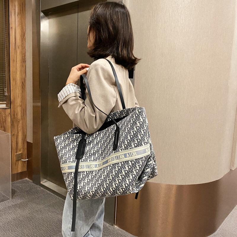 กระเป๋าถือ Luxury Designer กระเป๋าถือแบบพกพาขนาดใหญ่ความจุกระเป๋าผู้หญิง2021ใหม่แฟชั่นกระเป๋าสะพาย ...