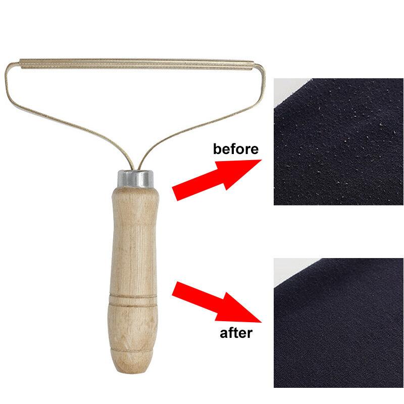 Tragbare Lint Entferner Kleidung Fuzz Stoff Rasierer Manuelle Flusen Entfernen Roller für Pullover Woven Mantel Kleidung Pinsel Werkzeug