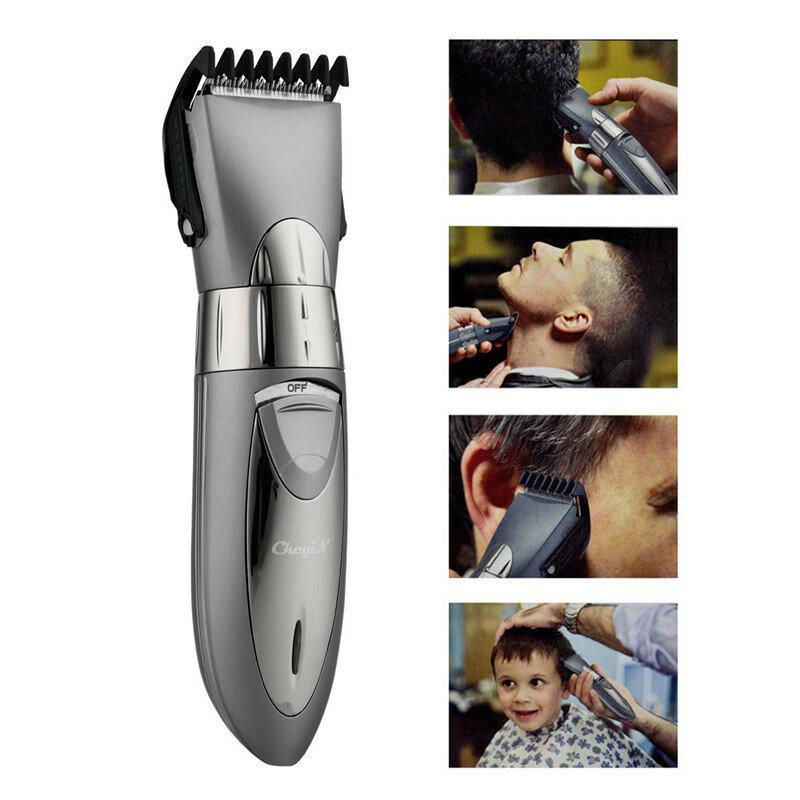 Wiederaufladbare Wasserdicht Haar Clipper Bart Elektrische Haar Trimmer Rasierer Körper Haar Schnurrbart Rasieren Trimmer Haarschnitt 55
