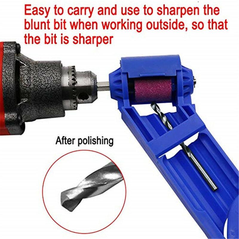 2-12,5mm portátil Afilador de brocas para taladro herramienta de molienda de