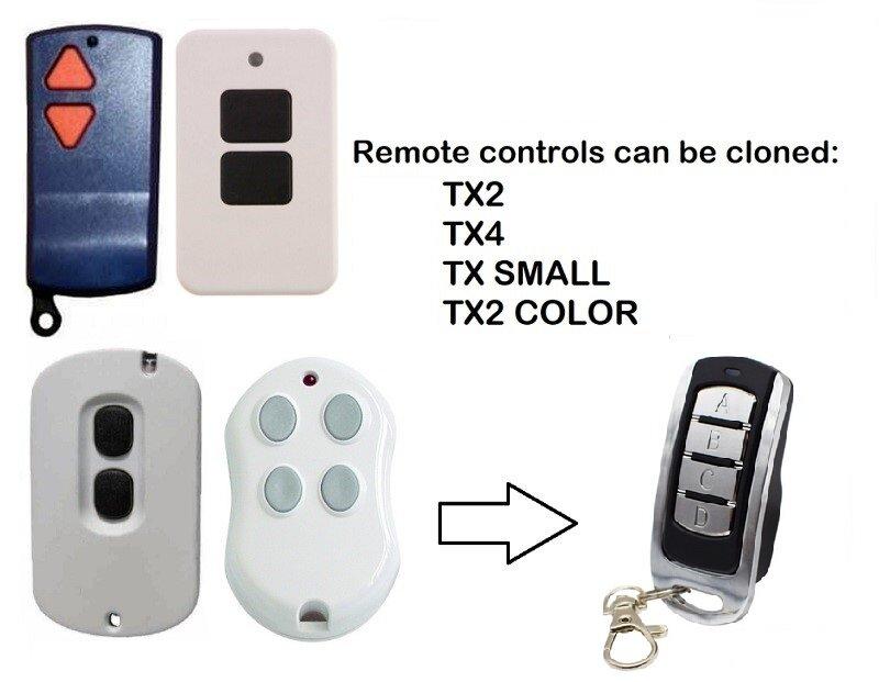 للمكررة 278MHZ-868.3MHz ACM قيادة باب المرآب التحكم عن بعد فتاحة الثابتة والمتداول رمز