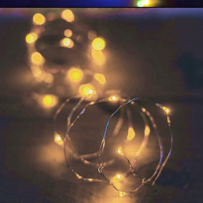 문자열 led 와인 병 코르크 20 LED 병 조명 배터리 코르크 파티 웨딩 크리스마스 할로윈 바 장식