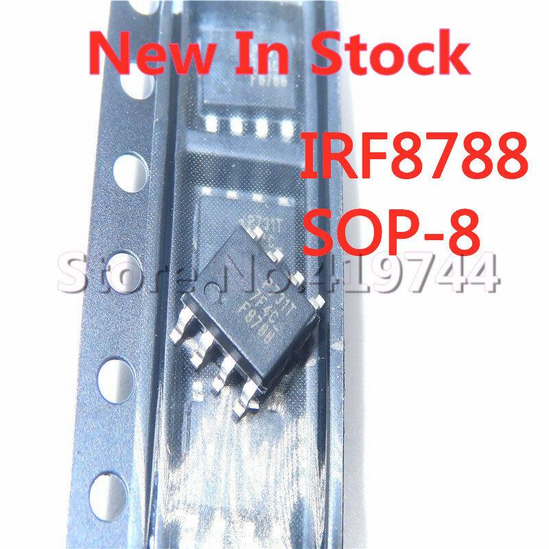 5 قطعة/الوحدة IRF8788TRPBF IRF8788 F8788 SOP-8 24A/30V N-قناة MOS أنبوب تأثير الحقل أنبوب في الأسهم الجديدة الأصلي IC