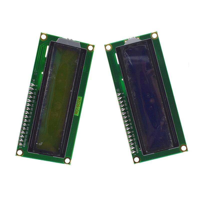 1PCS LCD 모듈 블루 스크린 IIC/I2C 1602 arduino 1602 LCD UNO r3 mega2560 그린 스크린