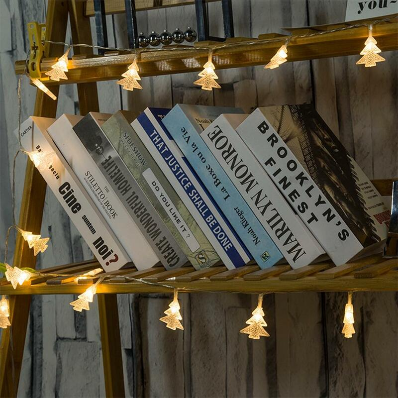 คริสต์มาสไฟตกแต่ง LED String ไฟ Fairy ไฟตกแต่งในร่ม String ตกแต่งสวนคริสต์มาส
