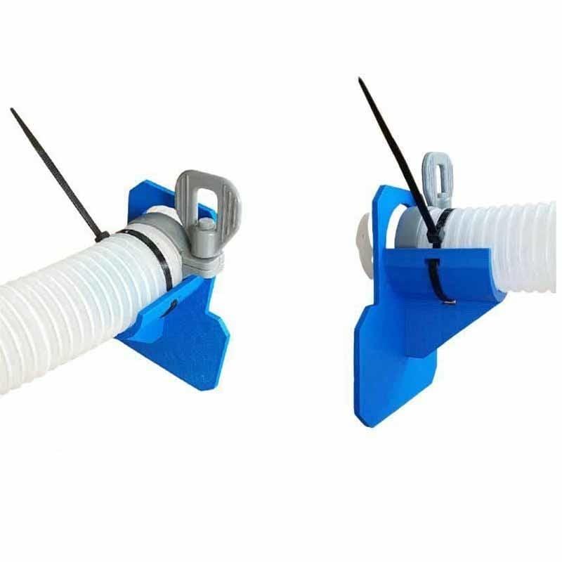 Schwimmen Pool Rohr Halter Halterung Unterstützt Rohre 30-37mm Passt für Intex Bestway Über Boden 32mm Schlauch outlet mit Freies Kabelbinder