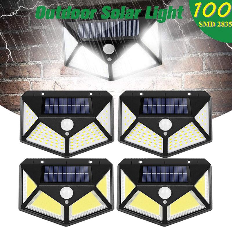 태양 Led 빛 야외 방수 태양 Lampe 모션 센서 조명 벽 빛 태양 전지 패널 정원 장식 거리 빛