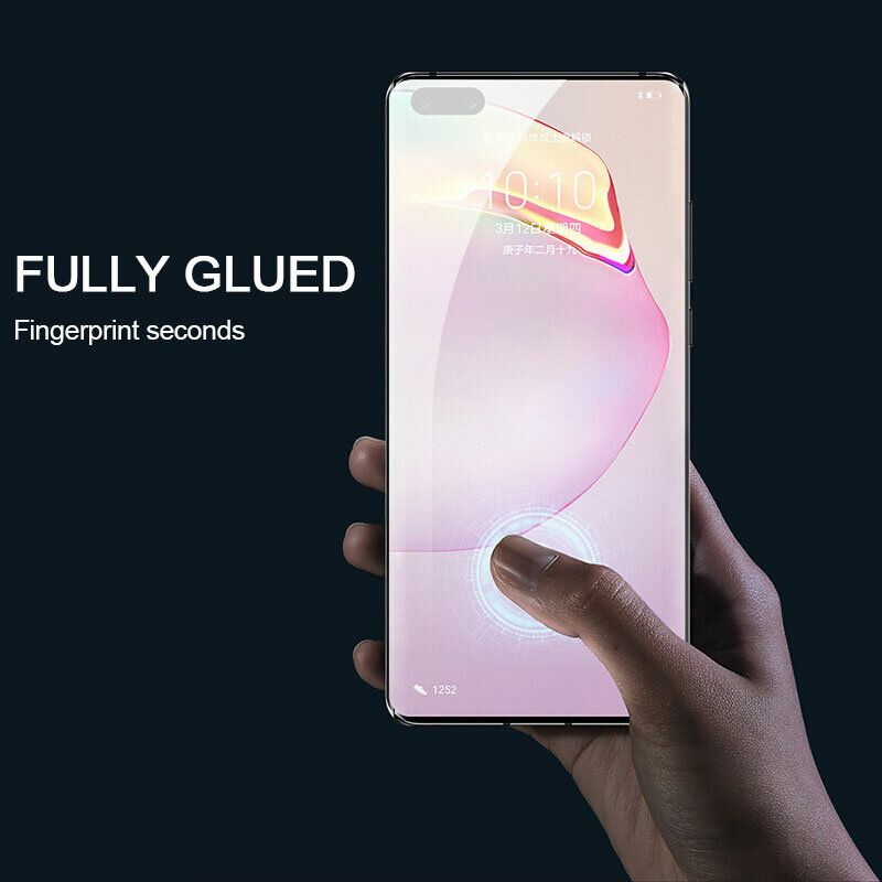 33D Full Cover Tempered Glass For Huawei P40 P30 P20 Lite Pro Screen Protector For Honor 9 10 20 Lite V10 V20 Protective Film