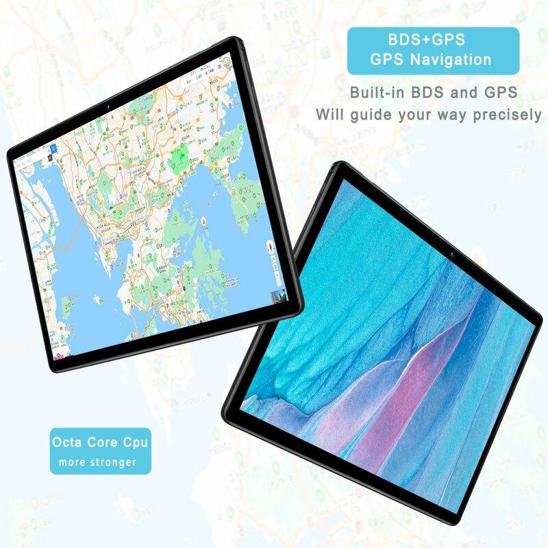 ใหม่10.1นิ้วแท็บเล็ต Pc SC9863A Octa Core Android 9.0 Google Market 3G 4G LTE โทรศัพท์ dual SIM กล้องคู่เม็ด
