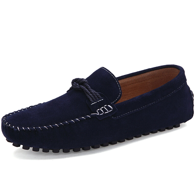 Man Loafers Shoes 2021 New Breathable Comfy Male Footwear Moccasin Fashion Shoes Men Slip-on Men's Flats Casual Shoes