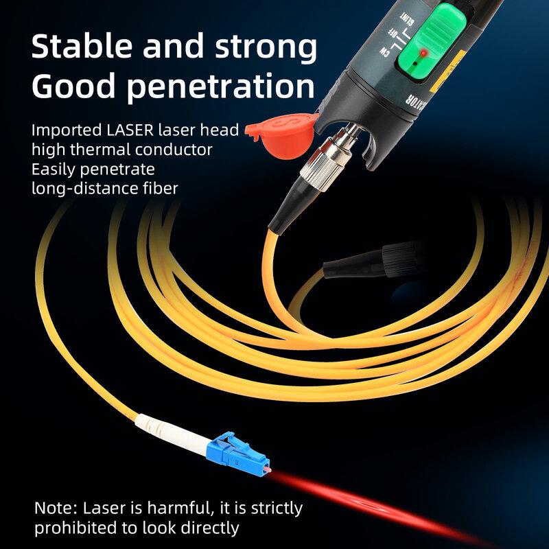 Localizador Visual de fallos de fibra óptica, 1MW-30MW, probador de Cable de fibra óptica, herramienta de prueba, 15-20km, envío gratis