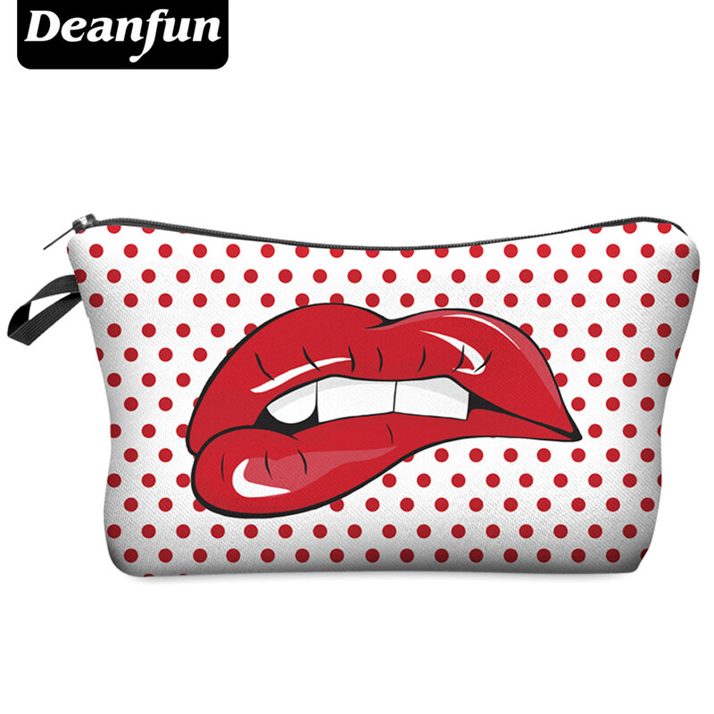 Deanfun-حقيبة مكياج نسائية ، حقيبة سفر ، ماركة أزياء ، حقيبة مستحضرات تجميل ، H14