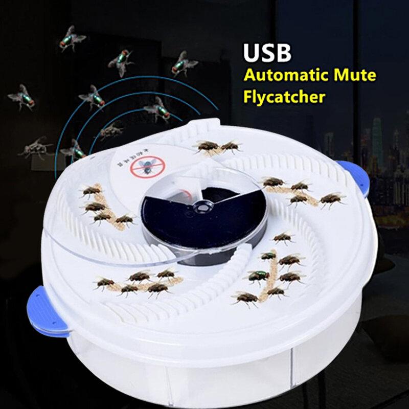 Elektrische Fliegenfalle Gerät Automatische Pest Catcher Fly Mörder USB Fliegenfalle Insekten Pest Fliegenfalle Garten Küche Hause Typ Fliegenfalle