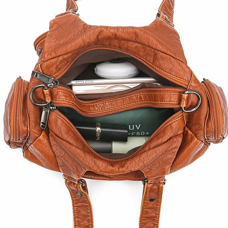 New Fashion High Quality Messenger Bags for Woman 2021 Luxury Women's Bags Soft Leather Handbags Famous Brand Women Shoulder Bag