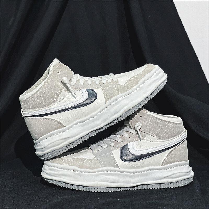 Giày Nam Casual Giày Giày Thể Thao Ngoài Trời Dành Cho Nam Thoải Mái Bóng Rổ Giày Thoáng Khí Chạy Bộ Giày Sneaker