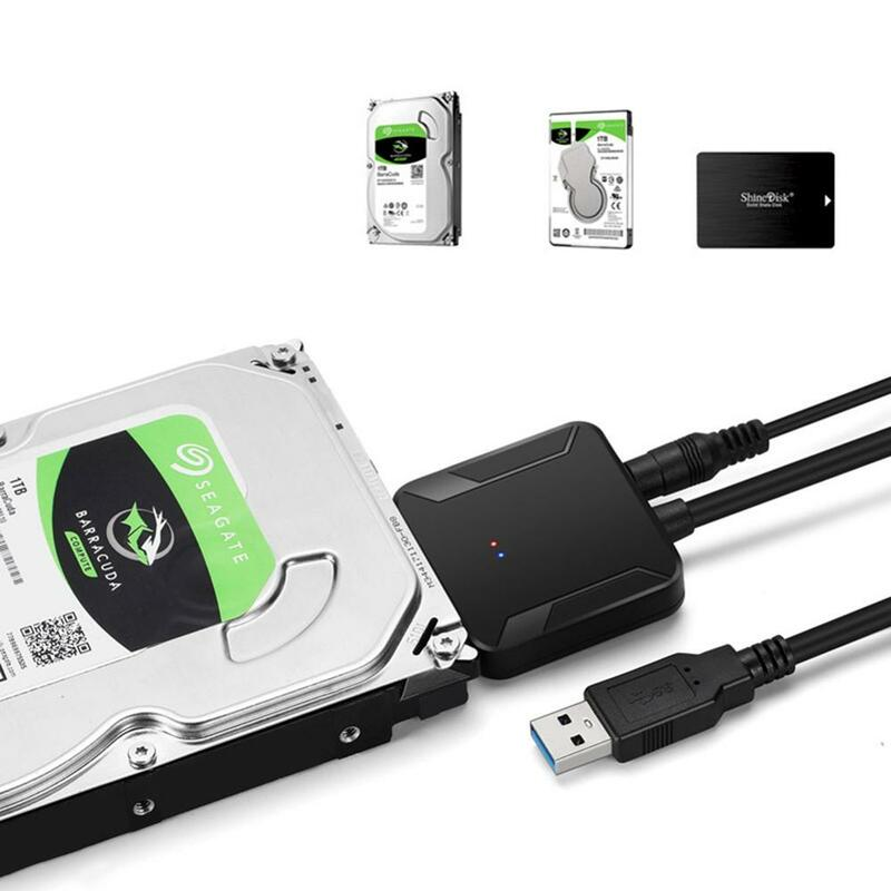 USB 3.0 إلى SATA محول محول كابل ل 2.5 ''3.5 ''الهارد دسك HDD محمول دفتر القرص الصلب SSD ل ويندوز ماك OS