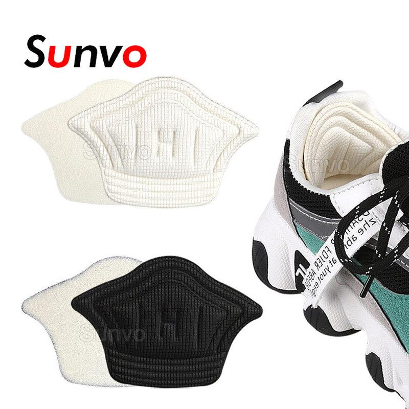 Sunvoผู้หญิงInsolesสำหรับกีฬารองเท้าวิ่งปรับขนาดHeel Liner Grips Protectorสติกเกอร์Pain Relief Patchเท้าCareแทรก